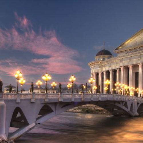 Skopje, the capital of Macedonia